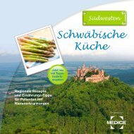 Schwäbische Küche - Medice