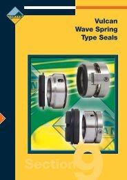 Vulcan Wave Spring Type Seals