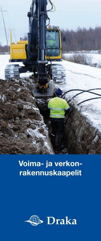 Voima- ja verkon- rakennuskaapelit - Taloon.com