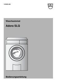 Adora SLQ - V-ZUG Ltd