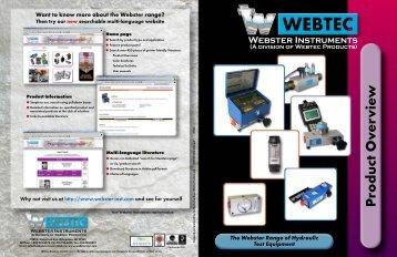 webtec product overview - Coastalhydraulics.net