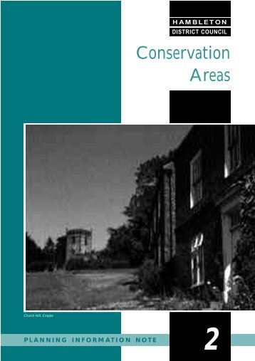 Conservation Areas - Hambleton District Council