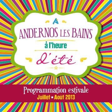 Télécharger Le programme de l'été ... - Mairie d'Andernos