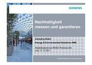 Präsentation im PDF hier klicken - RESO Partners AG