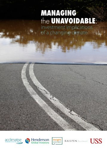 """""""Managing the Unavoidable: investment implications of a ... - USS"""