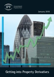 Getting into Property Derivatives - Investment Property Forum