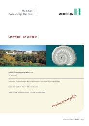 Schwindel - MediClin