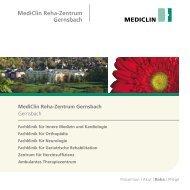 MediClin Reha-Zentrum Gernsbach Gernsbach