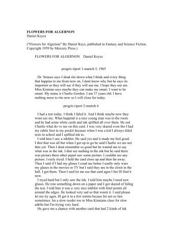 General English Essays Top Custom Writing Companies Flowers For Algernon Essay Essay Proposal Template also What Is A Thesis Statement In An Essay Flowers For Algernon Essay  Writing Research Papers Psychology Theme For English B Essay