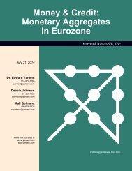 Money & Credit: Monetary Aggregates in Euro Area