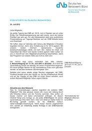 PDF: 34 KB - Deutsches Netzwerk Büro
