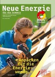 Neue Energie für die Schweiz Nr. 4 - Nie wieder Atomkraftwerke