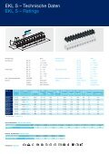 Europaklemmleiste Polypropylen Connector Strip Polypropylene - Page 3