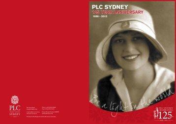 125 Year Anniversary Brochure (PDF)