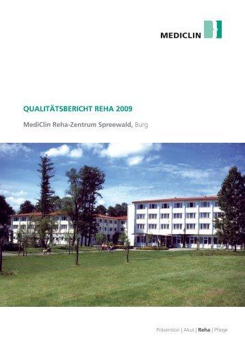 MediClin Reha-Zentrum Spreewald,  Burg (2009)