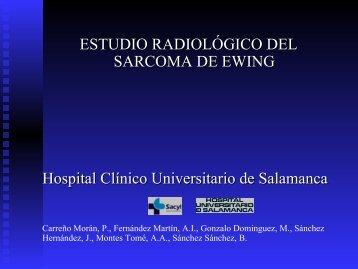 ESTUDIO RADIOLÓGICO DEL SARCOMA DE EWING Hospital ...