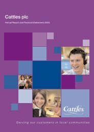 Annual report and accounts - Cattles Limited