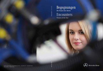 Begegnungen – die Frauen des Sterns - Daimler