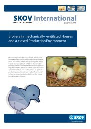 Broilers in mechanically ventilated Houses and a closed ... - Skov A/S