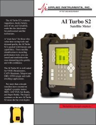 AI Turbo S2 Satellite Meter - Vincor