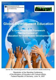 Global Development Education - Schools at University for Climate ...