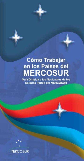 Cómo trabajar en los países del Mercosur - Ministerio del Trabajo y ...