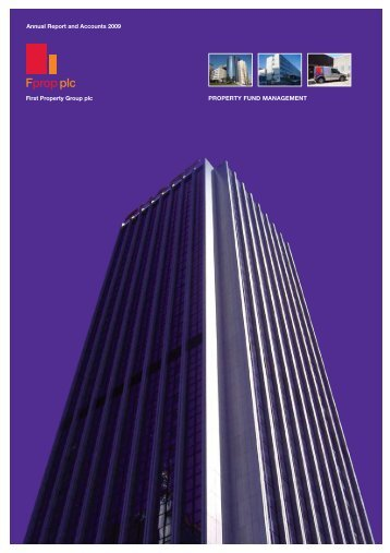 2009 Annual Report & Accounts - First Property Group plc