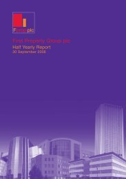September 2008 Interim Report - First Property Group plc