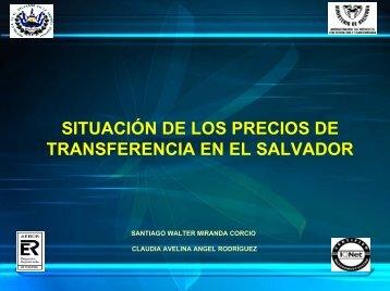 La situación de los precios de transferencia en El Salvador