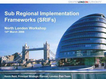 Planning in the UK - North London Strategic Alliance