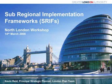 Planning in the UK - North London Strategic Alliance