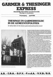 R & TIIESINGER E SS - Garmerwolde.net