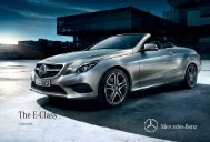 The E-Class - Mercedes-Benz