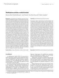 Fibrillazione atriale e noduli tiroidei Articolo originale - Recenti ...