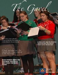 December 2011 Issue - Notre Dame Academy
