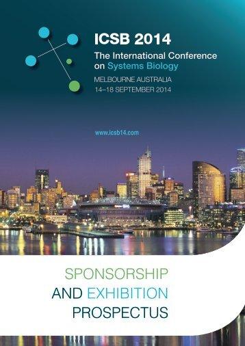 official sponsorship prospectus - ICSB 2014