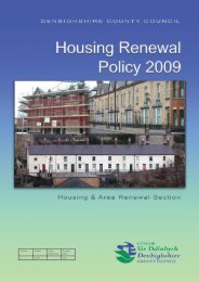 Private Sector Housing Renewal Policy Denbighshire ... - whnb.org.uk