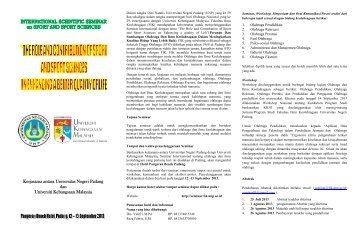 Kerjasama antara Universitas Negeri Padang dan Universiti ...