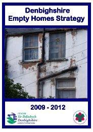 Denbighshire Denbighshire Empty Homes Strategy ... - whnb.org.uk
