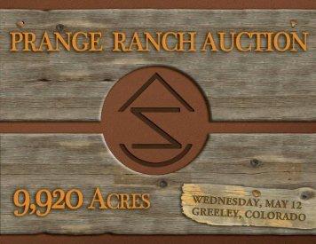 prange ranch - Murray Wise Associates