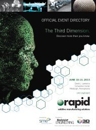 The RAPID 2013 Conference & Exposition Directory - Society of ...