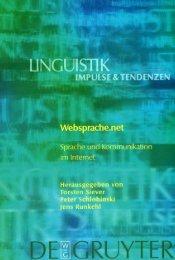 Vorwort - Mediensprache.net