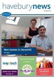 Summer 2013 - Havebury Housing Partnership