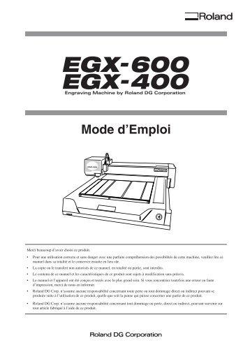 EGX-400/600 - Support
