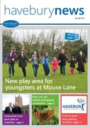 Spring 2011 - Havebury Housing Partnership