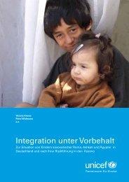 UNICEF-Studie zur Lage von Roma-Kindern in ... - Aktion 302