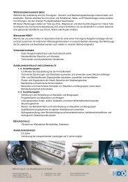 Werkzeugmechaniker (m/w).pdf - HDO Druckguß- und ...