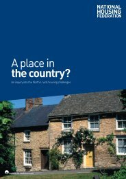 A Place in the Country? - Rural Affordable Housing
