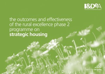 Rural Excellence Programme Phase 2 - Rural Affordable Housing