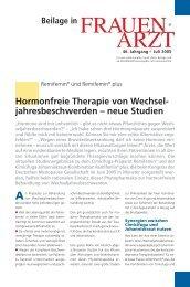 Hormonfreie Therapie Von Wechsel- Jahresbeschwerden - Medref.se